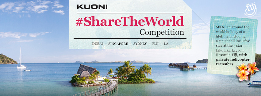 Kuoni #ShareTheWorld Competition