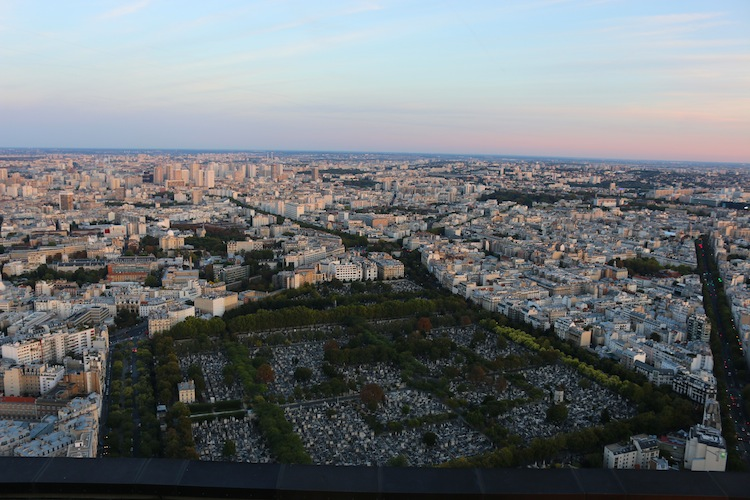 Views from Montparnasse Tower