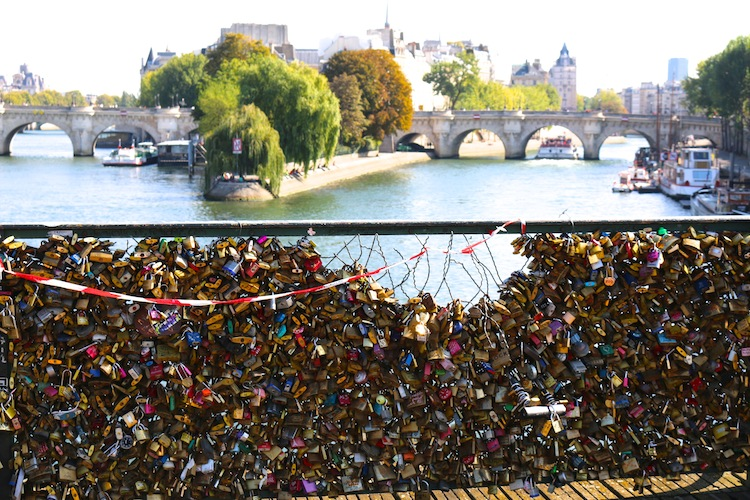 love lock bridge is falling down