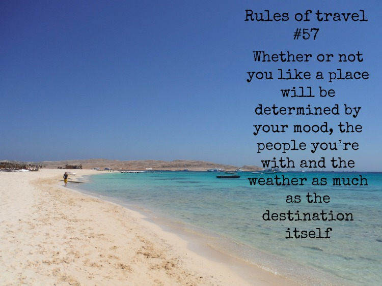 101 rules of travel #57