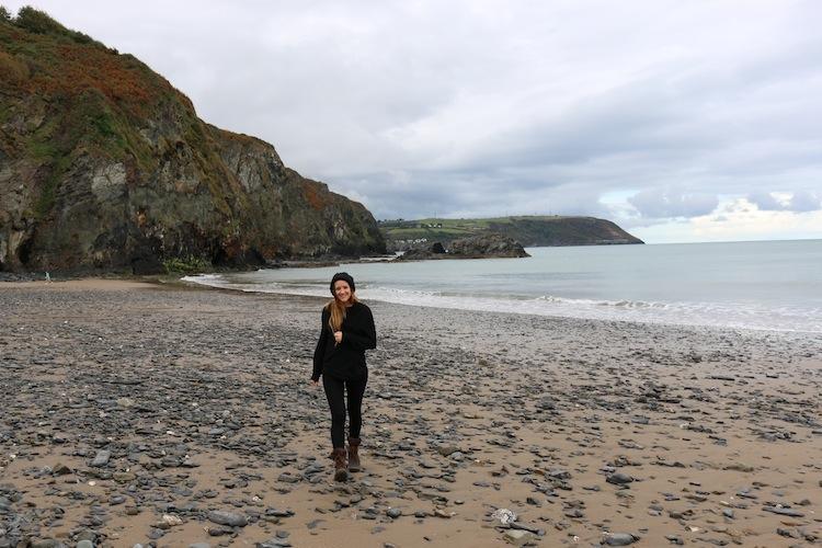 Beach in Aberaeron