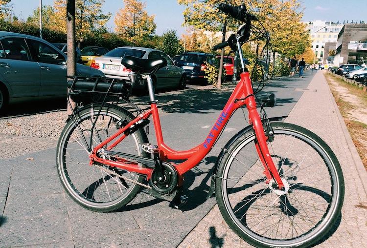 An e-bike is even better