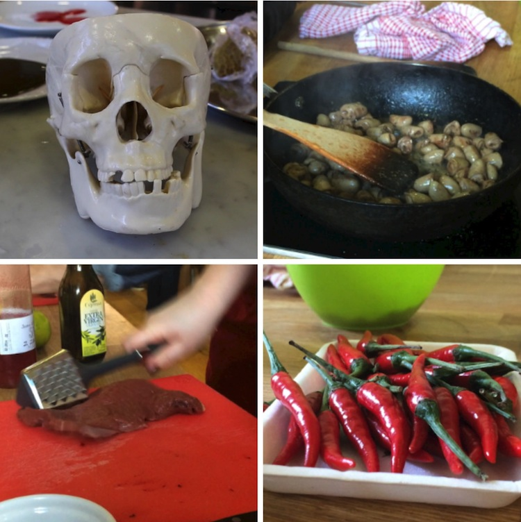 Domestic Godless cookery course