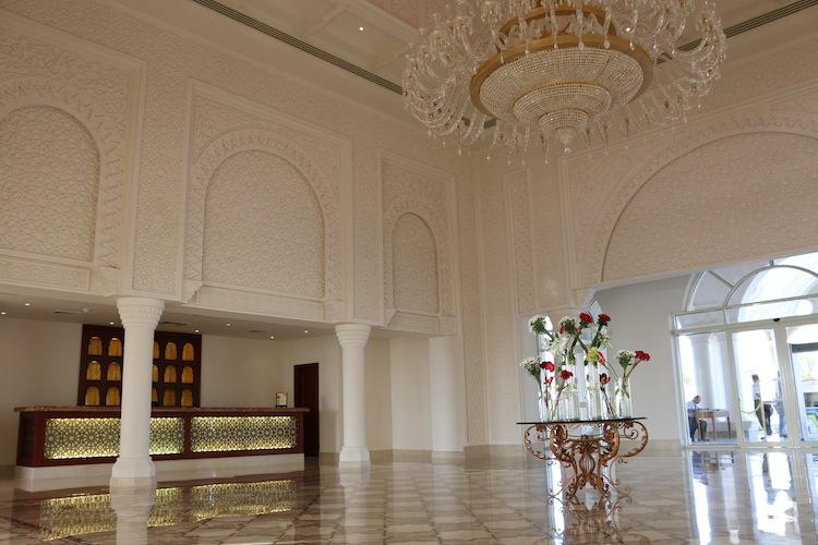 Entrance at Baron Palace Resort Hurghada Egypt