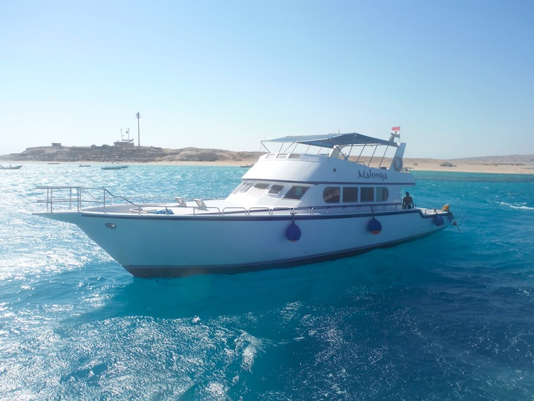 Mahmaya Island Boat in Egypt