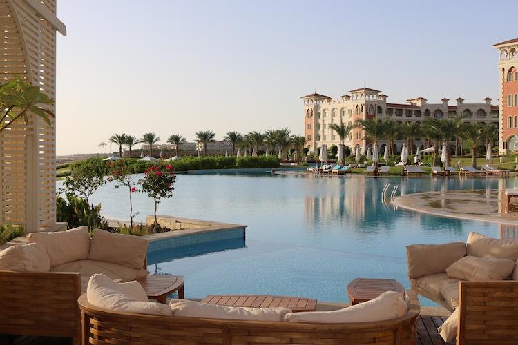 Pool at Baron Palace Resort Hurghada Egypt