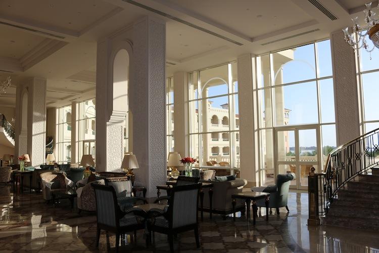 Reception at Baron Palace Resort Hurghada Egypt