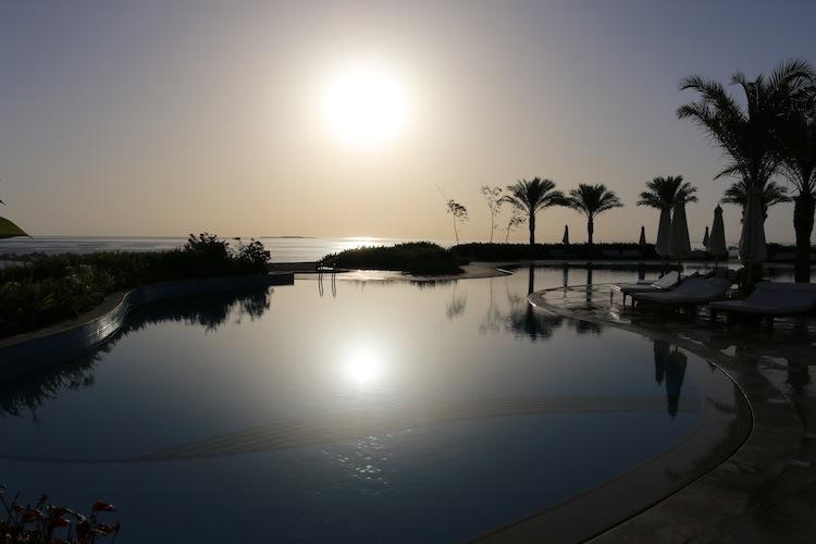 Sunrise at Baron Palace Resort Hurghada Egypt