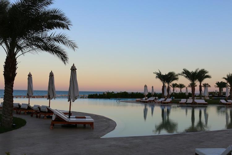 Sunrise at Baron Palace Resort Hurghada