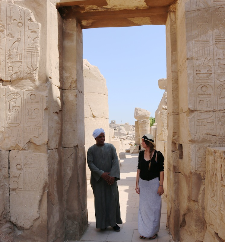Temple tour in Egypt