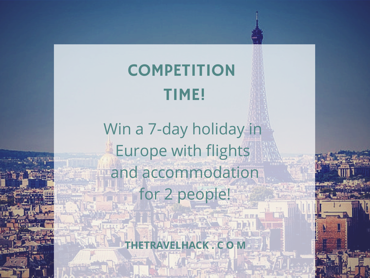 Win a holiday to Europe