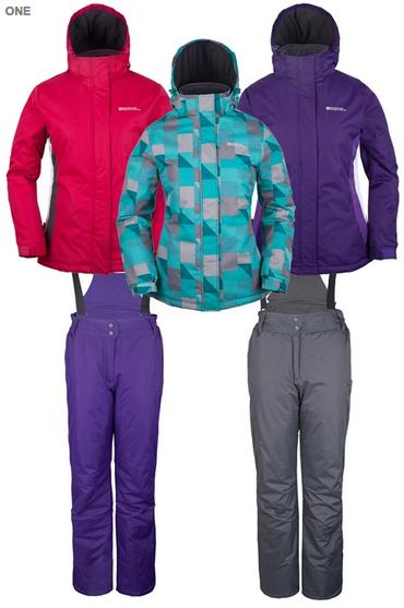 Bargain ski kit