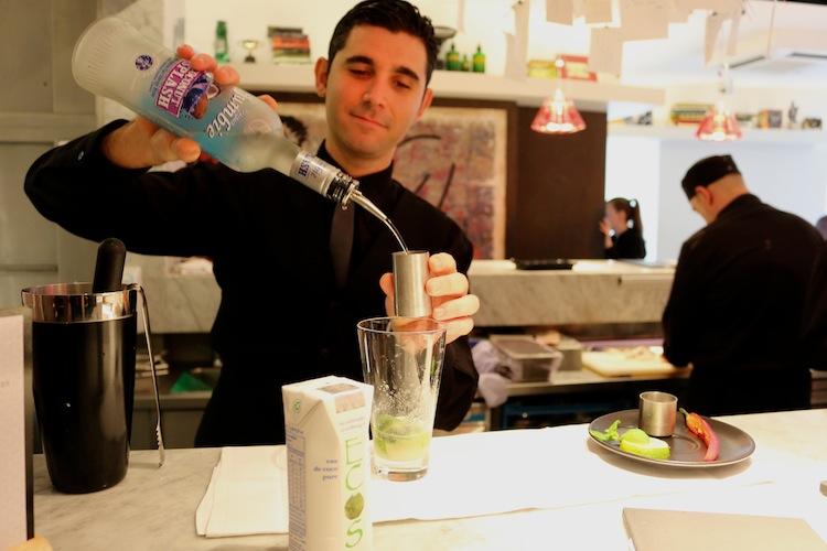 Cocktail making masterclass at uni london