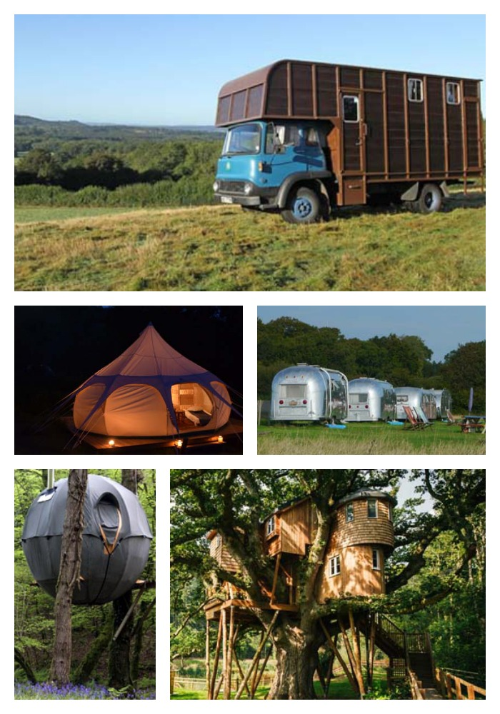 Cool places to stay in the UK