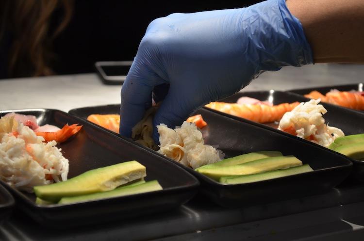 Sushi Making Masterclass at Uni London