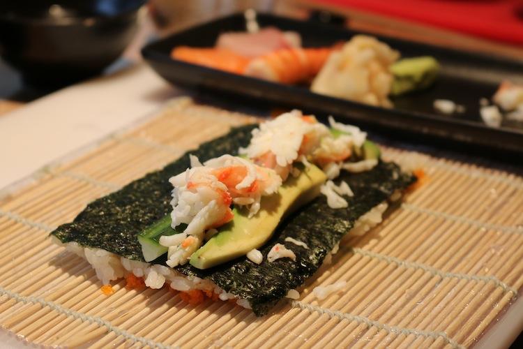 Sushi Making Masterclass at Uni London 10