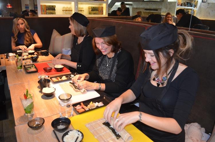 Sushi Making Masterclass at Uni London 3