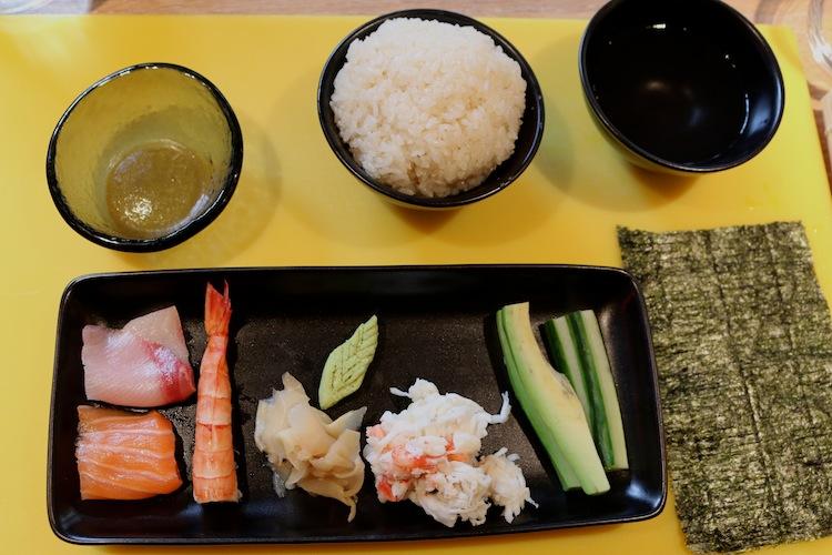 Sushi Making Masterclass at Uni London 9
