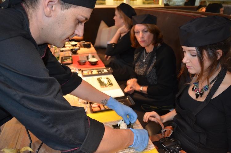 Sushi Making Masterclass at Uni London | The Travel Hack