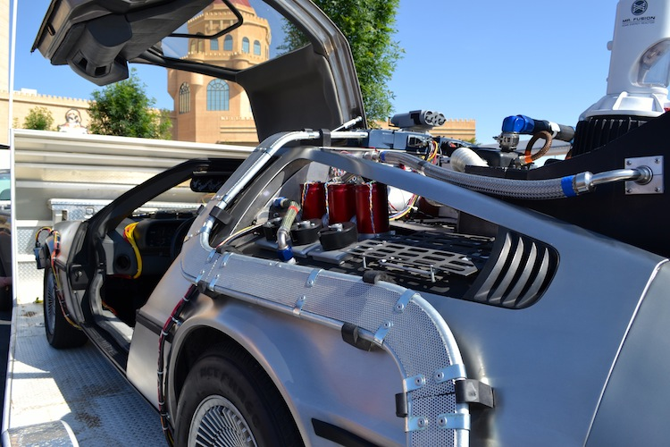DeLorean from Back to the Future II