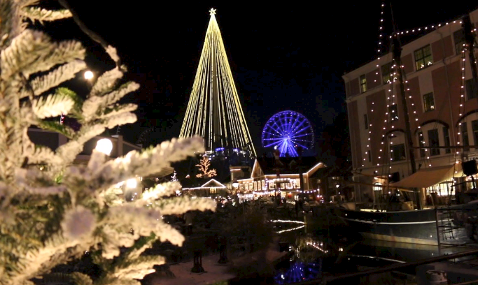 Liseberg at Christmas