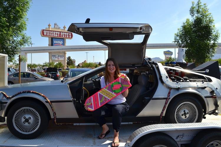 DeLorean from Back to the Future II