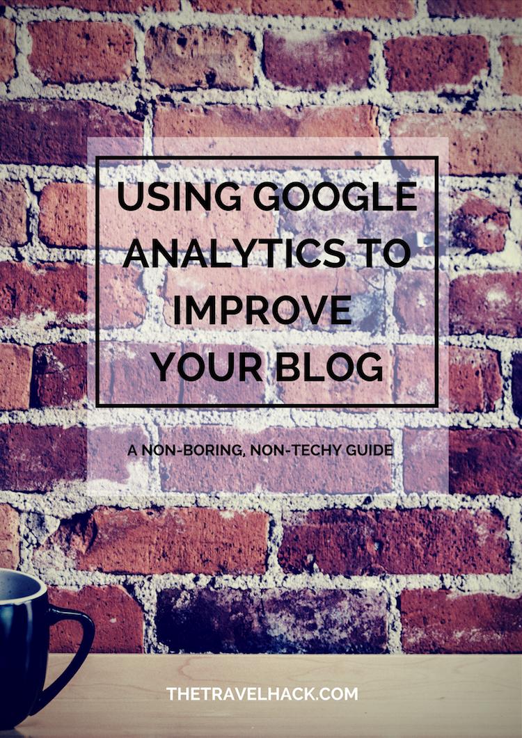 Using Google Analytics to improve your blog