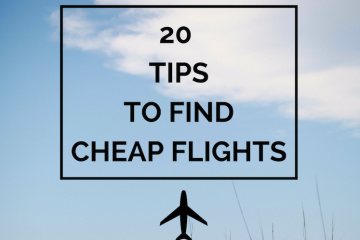 20 tips to find cheap flights | The Travel Hack