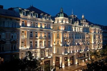 Corinthia hotel in Budapest