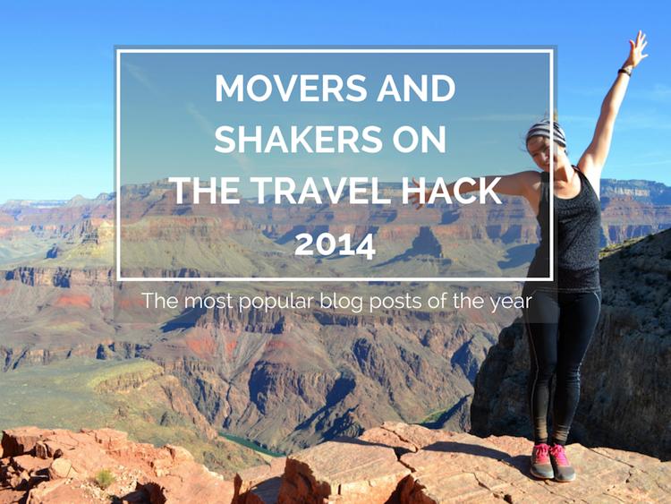 Popular blog posts on The Travel Hack