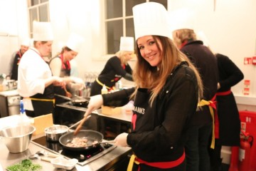 The Travel Hack at Interhome cooking event