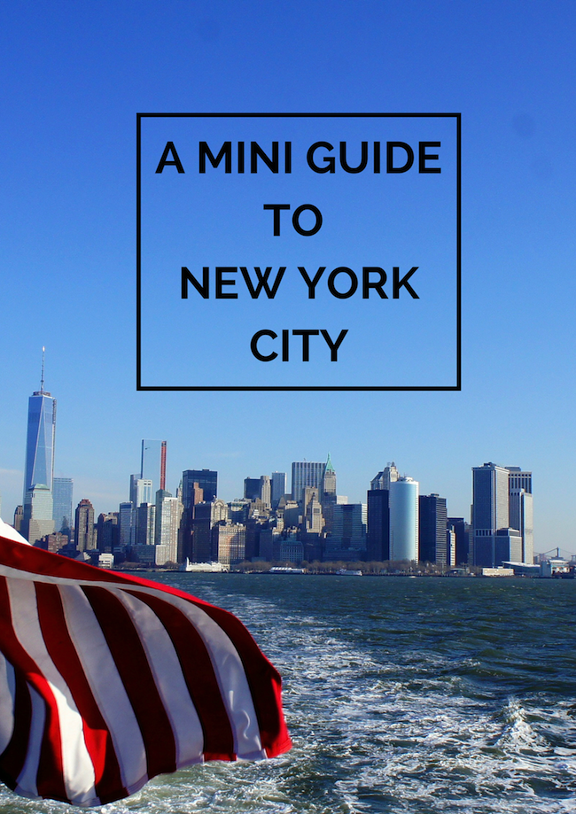 A mini guide to New York