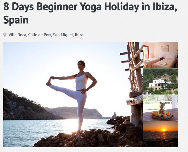 Beginner's Yoga retreat in Ibiza