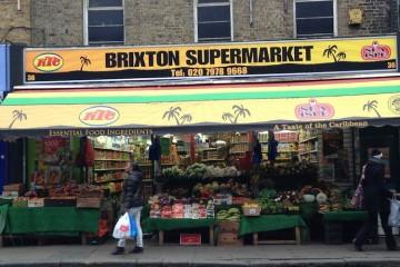 Caribbean supermarket in Brixton