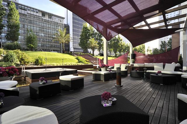 Corinthia Hotel Lisbon Outdoor Lounge