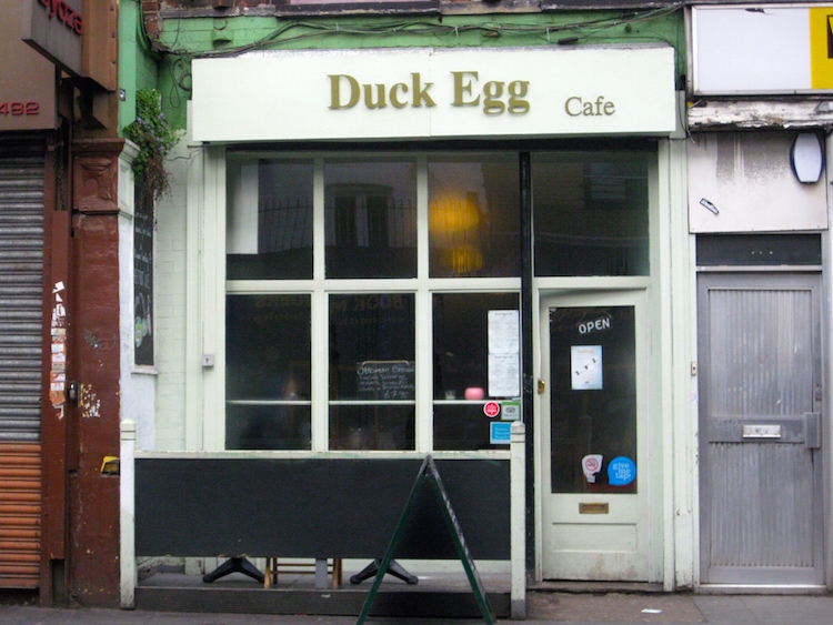 Duck Egg cafe