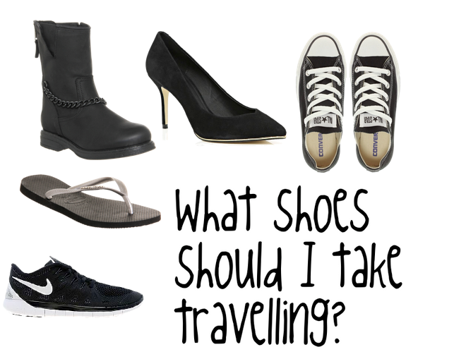 What shoes should I take travelling? 5 shoes you need for every travel situation.