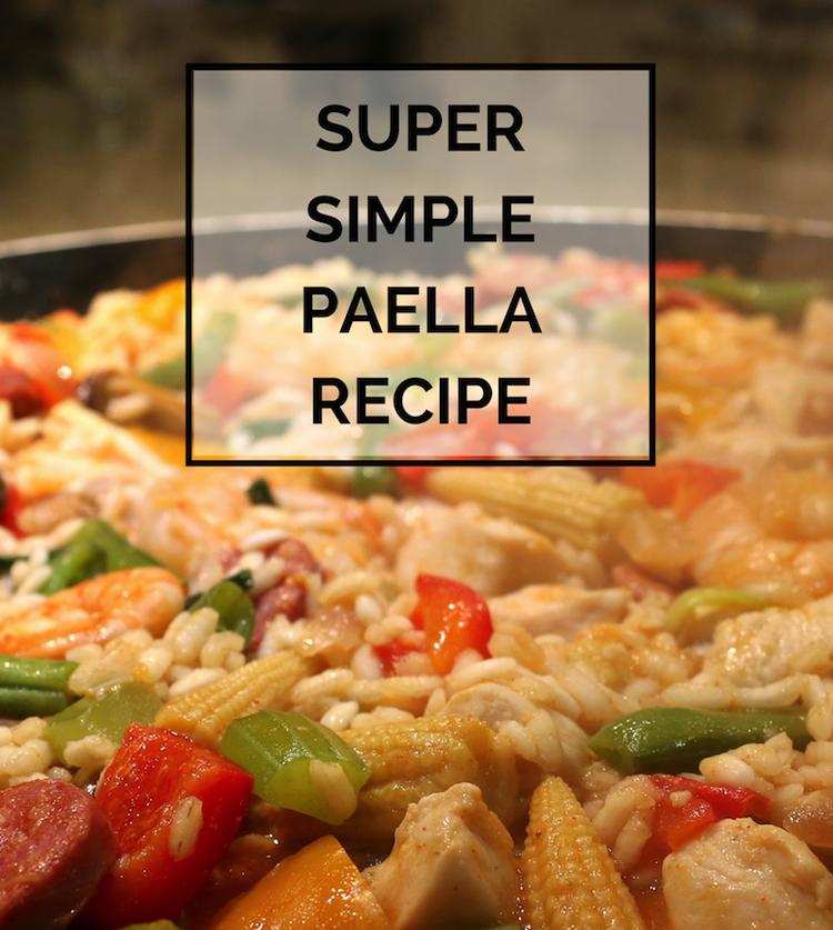 simple paella recipe