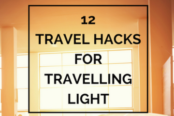 travel hacks to help you travel light