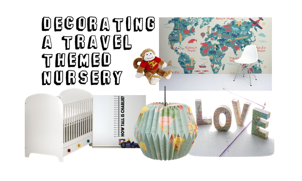 Travel Themed Baby Bedroom