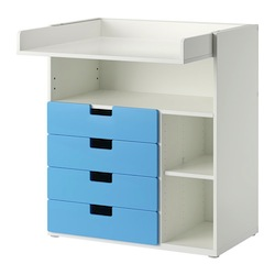 stuva-changing-table-with-drawers-white