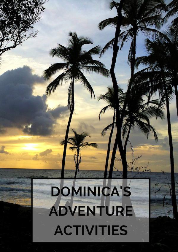 Adventure activities in Dominica