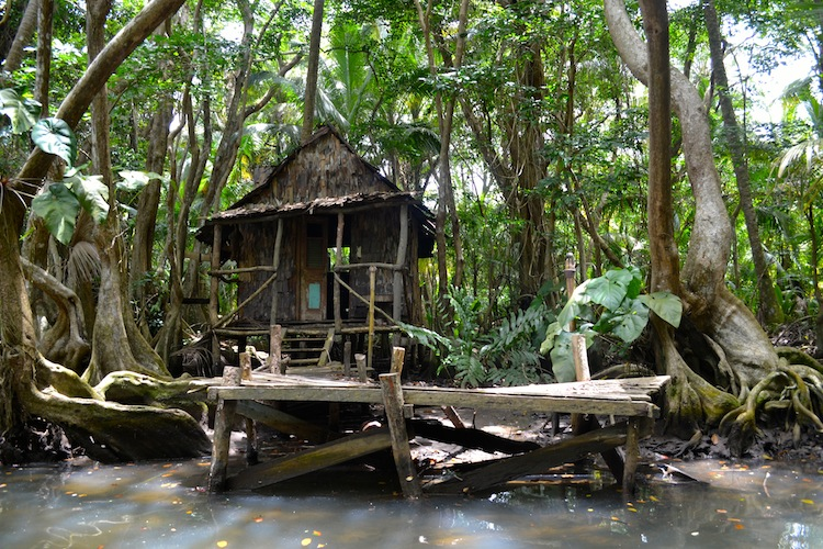 Calypso's Hut from Pirates of the Caribbean - Dominica