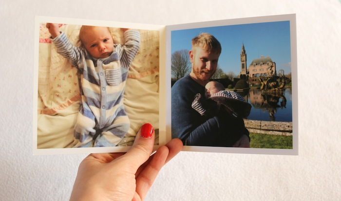 Creating a Photo Book for baby's first year