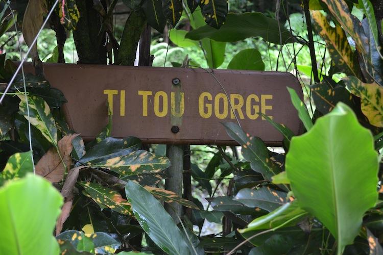 Ti Tou Gorge, Dominica