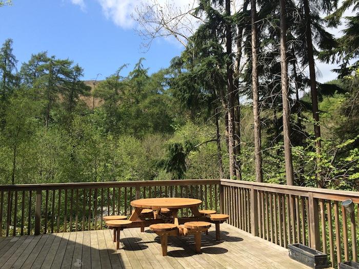 Niagra Lodge Llangollen Veranda