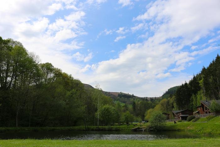 Niagra Lodge Llangollen gardens