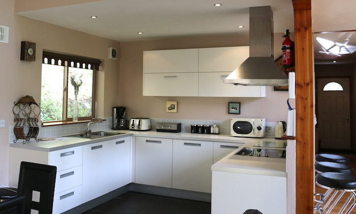 Niagra Lodge Llangollen kitchen