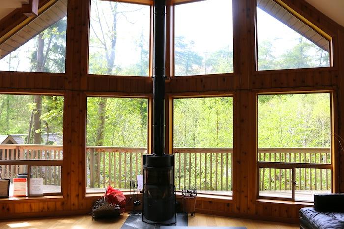 Niagra Lodge, Llangollen living area