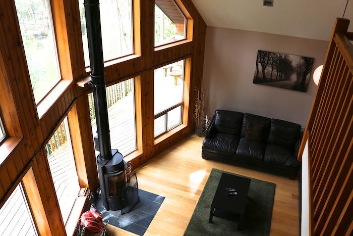 Niagra Lodge Llangollen living space